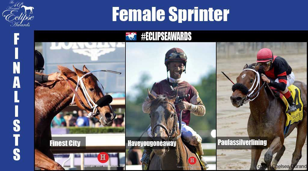 Eclipse Awards Female Sprinter